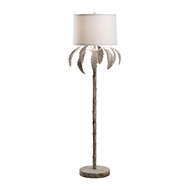 Chelsea House Lighting Palm Floor Lamp-White Wash 69231