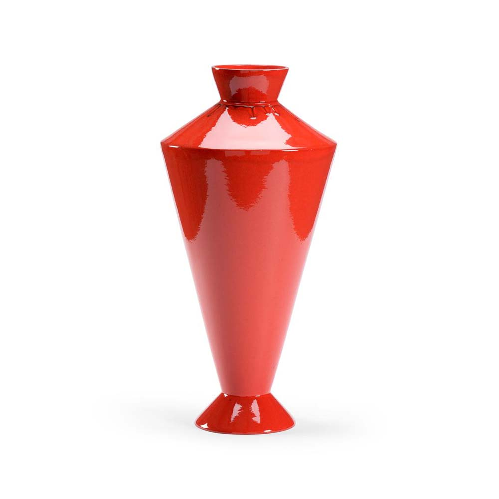 Chelsea House Home Adam Vase - Red 383491