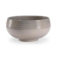 Chelsea House Home Swirl Bowl - Gray