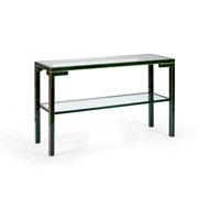 Chelsea House Home Decker Console - Malachite 383658