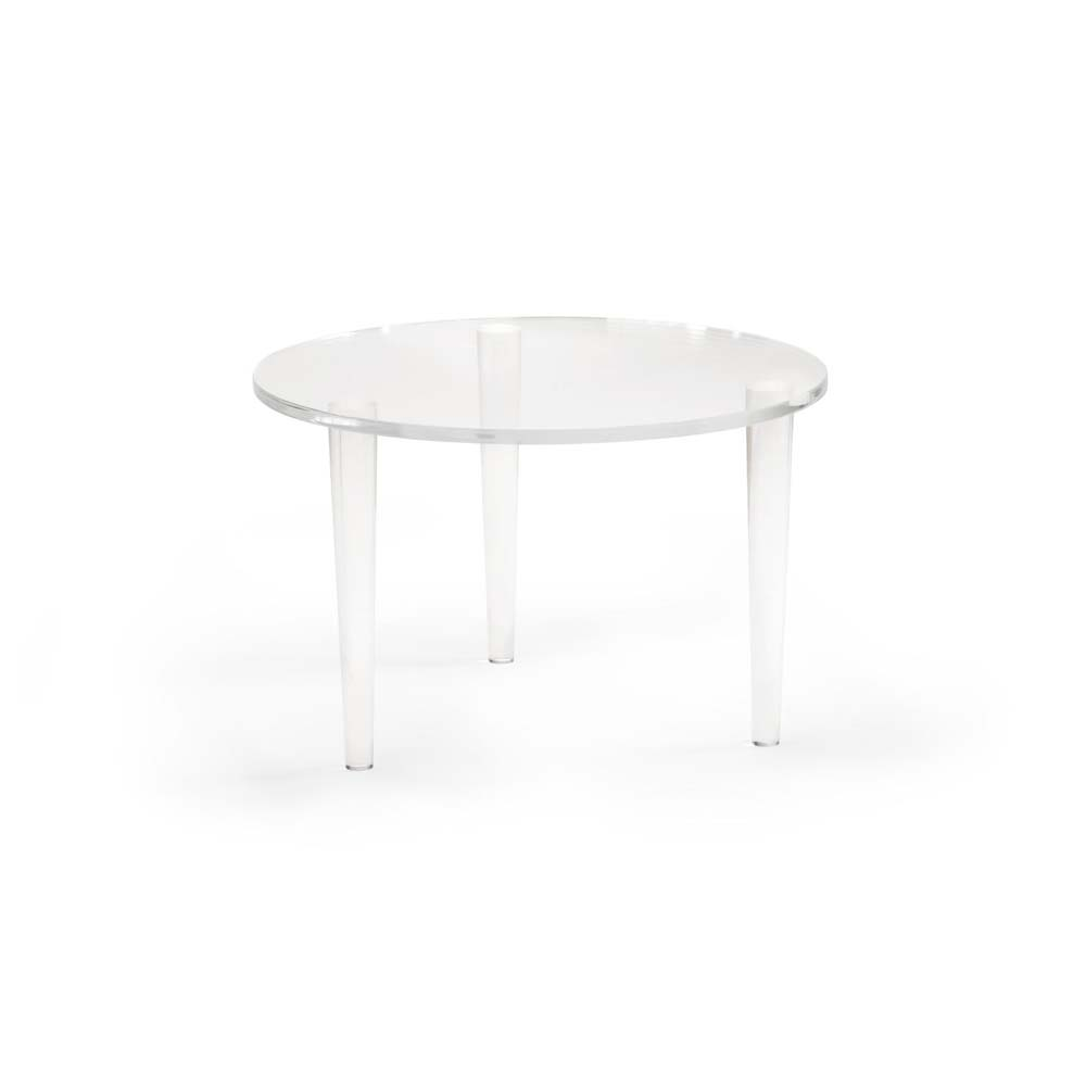 Chelsea House Home Round Acrylic Coffee Table