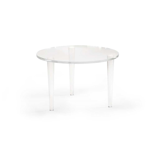 Chelsea House Home Round Acrylic Coffee Table 383663
