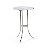 Chelsea House Home Ragsdale Side Table - Nickel 383669