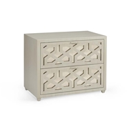 Chelsea House Home China Lattice Chest 383674