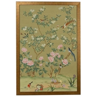 Chelsea House Wall Decor Edgedale Panel - Green (A) 386815