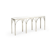 Chelsea House Home Arches Console Table 383900 Marble