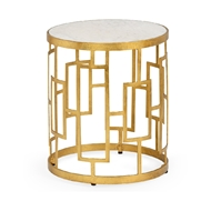 Chelsea House Home Bella Accent Table 383785 Iron/Marble