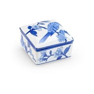 Chelsea House Home Blue Bird Box - Small 383788 Porcelain
