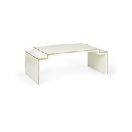 Chelsea House Home Chatsworth Table - Cream 383820 Wood