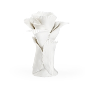 Chelsea House Home Chelsea Flower - White 384542 Ceramic