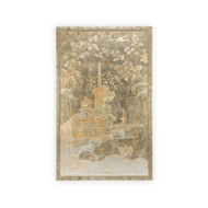Chelsea House Home Chinoiserie Panel - Left 384351 Wood