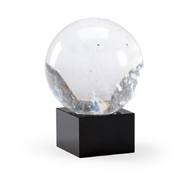 Chelsea House Home Crystal Ball - Small 384236 Crystal