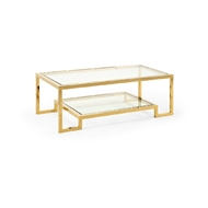 Chelsea House Home Dasher Cocktail Table 384479 Metal/Glass