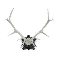 Chelsea House Home Deer Antlers - Gray - Large 382802 Cast Composite