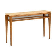 Chelsea House Home Dover Console 383974 Coconut/Wood
