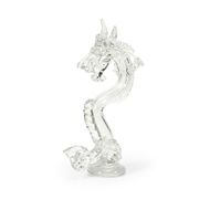 Chelsea House Home Dragon - Front Facing 383839 Glass