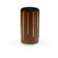 Chelsea House Home Drip Drop Drink Table 384307 Wood/Metal/Marble