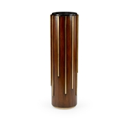 Chelsea House Home Drip Drop Pedestal 384308 Wood/Metal/Marble