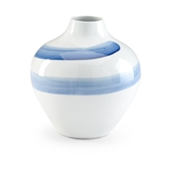Chelsea House Home Essex Urn - Blue - Small 383986 Porcelain