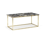 Chelsea House Home Gray Agate Coffee Table 383351 Agate