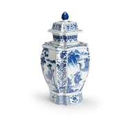 Chelsea House Home Jin Dynasty Covered Urn 383997 Porcelain