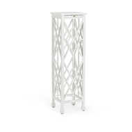Chelsea House Home Large George III Plant Stand - White 382096
