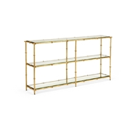 Chelsea House Home Lauren Console 383878 Glass/Beveled