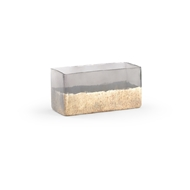 Chelsea House Home Lumberton Planter - Small 384088 Glass