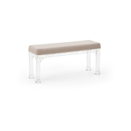 Chelsea House Home Madison Bench - Large 384399 Acrylic/Muslin
