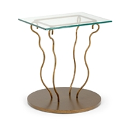 Chelsea House Home Montgomery Side Table 383782 Glass