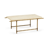 Chelsea House Home Monument Coffee Table - Beige 383781 Traverhne Marble