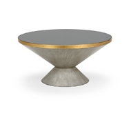 Chelsea House Home N Y Cocktail Table - Gray 383925 Glass