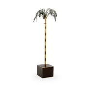 Chelsea House Home Naples Palm Tree - Polychrome 384480 Metal