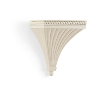 Chelsea House Home Regal Bracket - Cream 383745 Composite