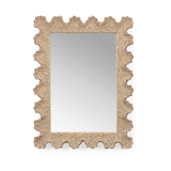 Chelsea House Home Scalloped Shell Mirror 384173 Shells/Mirror