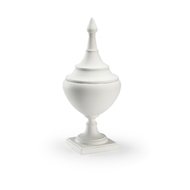 Chelsea House Home Small Bisque Finial Urn 383827 Ceramic