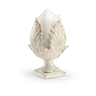 Chelsea House Home Small Cream Artichoke 383825 Porcelain