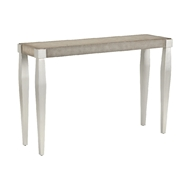 Chelsea House Home Tapered Leg Console - Linen 383946 Linen/Wood