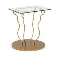 Chelsea House Home Taylor Table 383767 Glass