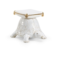 Chelsea House Home Turtle Garden Seat 383856 Ceramic