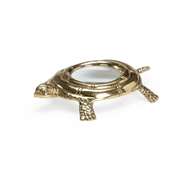 Chelsea House Home Turtle Magnifier - Brass 384137 Metal/Glass