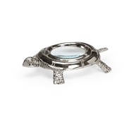 Chelsea House Home Turtle Magnifier - Nickel 384138 Metal/Glass