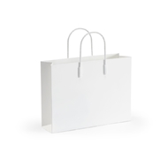 Chelsea House Home White Chic Tote Magazine Rack 384570 Metal