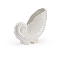 Chelsea House Home White Conch 383799 Ceramic