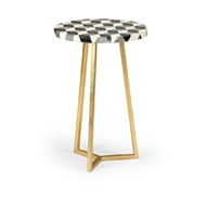 Chelsea House Home Whitehall Accent Table 383961 Agate/Stone/Wood