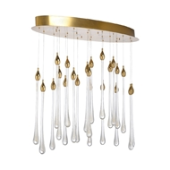 Chelsea House Lighting Clumber Park Chandelier 69632 Iron/Crystal