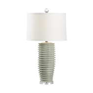 Chelsea House Lighting Colorado Lamp - Mint 69481 Ceramic & Acrylic