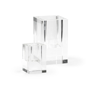 Chelsea House Lighting Crystal Candleholders - Set of 2 383860 Crystal
