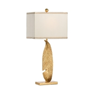 Chelsea House Lighting Gold Leaf Lamp 69420 Aluminum