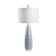 Chelsea House Lighting Gulf City Lamp - Blue/White 69461 Ceramic